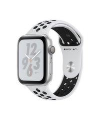 Nutikell Apple Watch S4 Nike+, 44mm, Hõbedane/Must