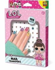 Küünekleebiste komplekt SES L.O.L. hind ja info | Tüdrukute mänguasjad | kaup24.ee