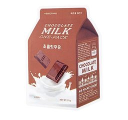 Siluv näomask A'Pieu Milk One-pack Chocolate 20 g