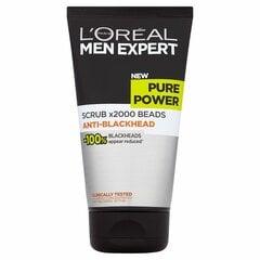 Näokoorija musta söega meestele L'Oreal Paris Men Expert Pure Charcoal 100 ml