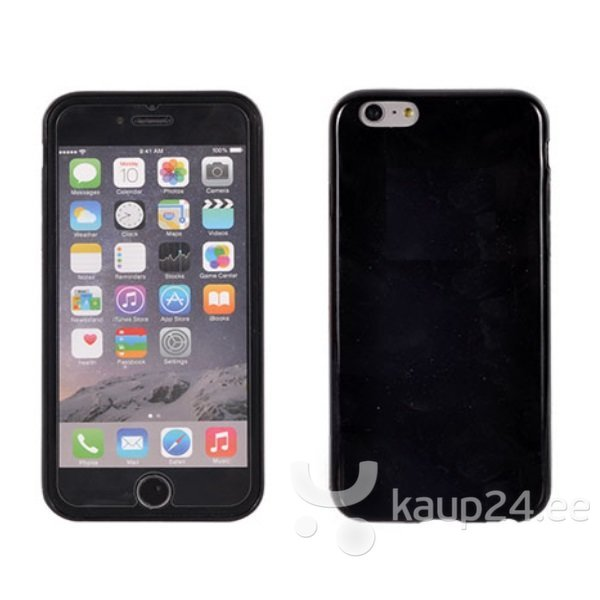 Kaitseümbris Telone Candy Ultra Slim Apple iPhone 6, Must цена и информация | Mobiili ümbrised, kaaned | kaup24.ee