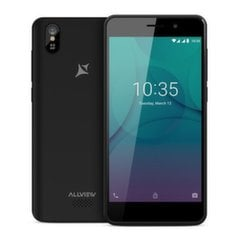 Allview P10 mini, 8 GB, Dual SIM, Must