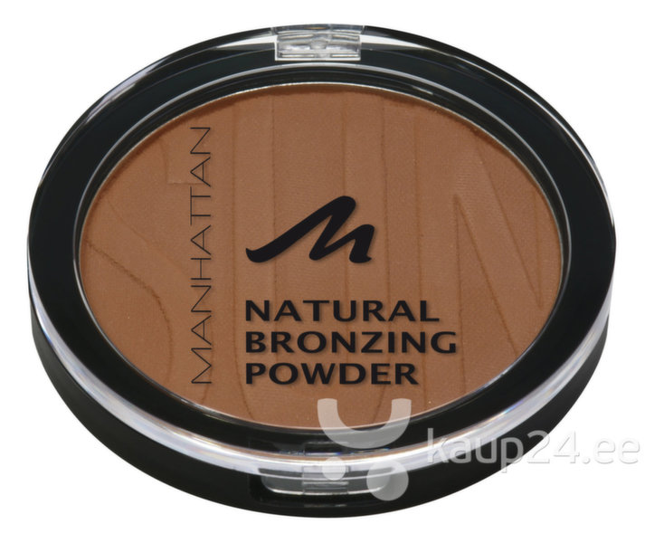 Пудра Natural Bronzing Powder Manhattan10 g цена и информация | Näole | kaup24.ee