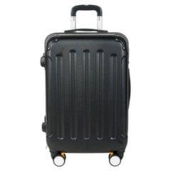 Keskmine kohver Paso 19-801B, must hind ja info | Kohvrid, reisikotid | kaup24.ee