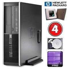 HP 6005 Pro SFF Athlon II X2 B22 4GB 250GB DVDRW WIN10Pro