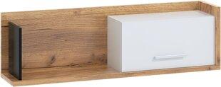 Seinariiul Meblocross Box 11, 1D, helepruun/valge
