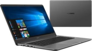 Huawei MateBook D (53010CEP) 16 GB RAM/ 256 GB M.2/ 1TB HDD/ Windows 10 Home