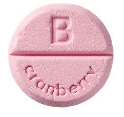 Vannitablett Bomb Cosmetics Cranberry 100 g