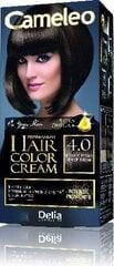 Kauapüsiv juuksevärv Delia Cameleo Omega +, 4.0 Medium Brown hind ja info | Juuksevärv | kaup24.ee