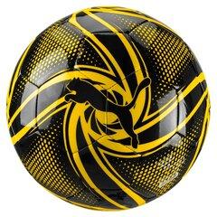 Jalgpall BVB Future Flare Fan Ball Puma Black-Cyb, 5 suurus