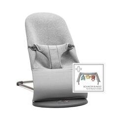 Babybjörn lamamistool Bliss Bundle Light Grey, 3D Jersey/toy hind ja info | Lamamistoolid | kaup24.ee
