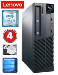Lauaarvuti Lenovo ThinkCentre M82 SFF i3-2120 4GB 250GB WIN10
