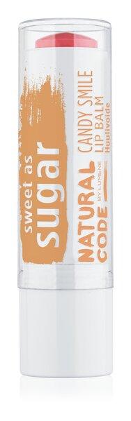 Бальзам для губ Lumene Natural Code Candy Smile 4.5 g цена и информация | Huulepulgad, palsamid, huuleläiked | kaup24.ee