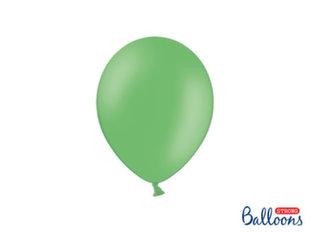 Tugevad õhupallid 23 cm Pastel, roheline, 50 tk.