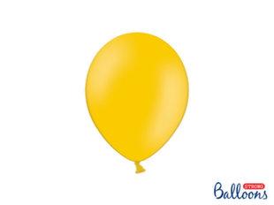 Tugevad õhupallid 23 cm Pastel Bright, oranž, 50 tk.