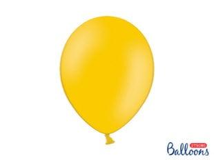 Tugevad õhupallid 30 cm Pastel Bright, oranž, 50 tk.