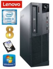 Lenovo ThinkCentre M82 SFF i3-2120 8GB 500GB WIN7Pro