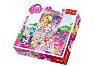 Puzzle komplekt Trefl My little pony 20+36+50 osa