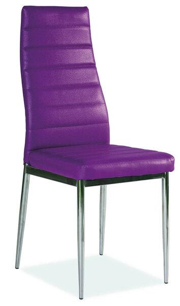 4 tooli komplekt H-261, lilla hind ja info | Köögitoolid | kaup24.ee