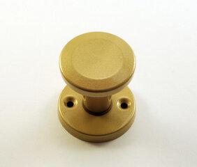 Круглая дверная ручка (желтая) цена и информация | Дверные коробки, дверные ручки | kaup24.ee