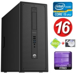 HP 600 G1 MT I5-4590 16GB 120SSD+1TB WIN10Pro