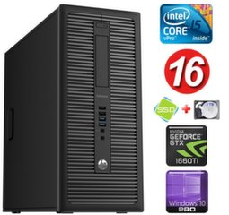 HP 600 G1 MT I5-4590 16GB 120SSD+2TB GTX1660Ti 6GB WIN10Pro