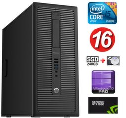HP 600 G1 MT I5-4590 16GB 240SSD+1TB GTX1660 6GB WIN10Pro