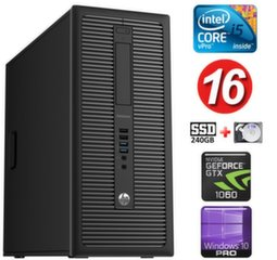 HP 600 G1 MT I5-4590 16GB 240SSD+2TB GTX1060 6GB WIN10Pro
