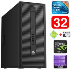 HP 600 G1 MT I5-4590 32GB 120SSD+1TB GTX1660Ti 6GB WIN10Pro