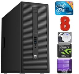 HP 600 G1 MT I5-4590 8GB 1TB GTX1660Ti 6GB WIN10Pro