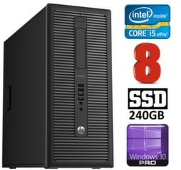 HP 600 G1 MT I5-4590 8GB 240SSD WIN10Pro