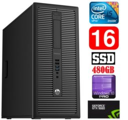 HP 600 G1 MT I5-4590S 16GB 480SSD GTX1660 6GB WIN10Pro