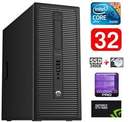 HP 600 G1 MT I5-4590S 32GB 240SSD+1TB GTX1660 6GB WIN10Pro