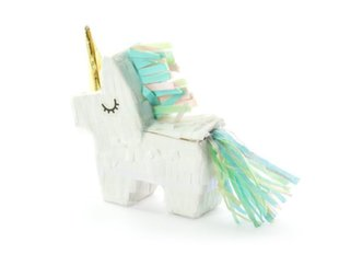 Mini pinjaata Unicorn, 8x8x2,5 cm, 1 karp/25 pk (1 pk/1 tk)