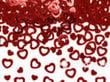 Konfetid Hearts, punane, 1 pakk/15 g