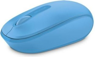 Microsoft - Wireless Mobile Mouse 1850 Cyan Blue - U7Z-00057