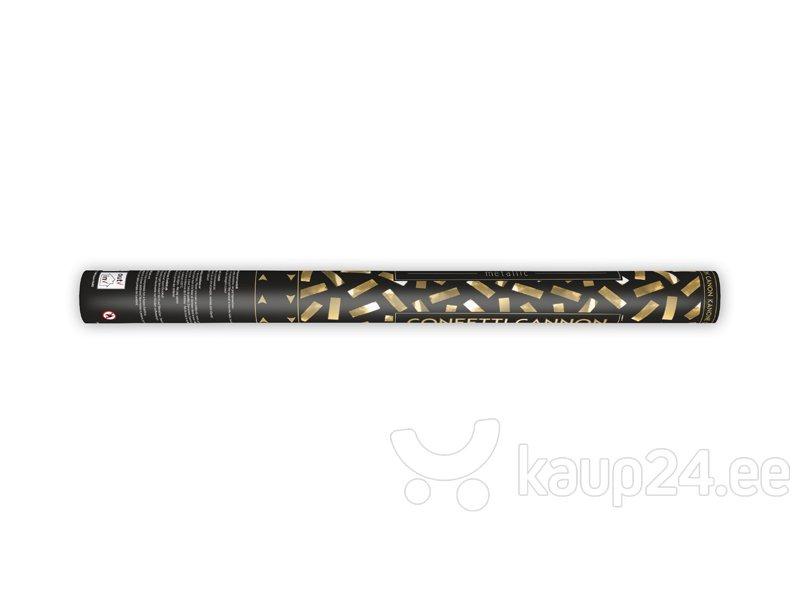 Конфетти пушка, золотого цвета, 60 см, 1 коробка/36 шт