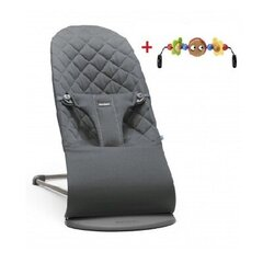 Lamamistool mänguasjaga BabyBjörn Bliss, anthracite