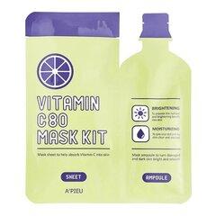 Puhastav näomask A'Pieu Vitamin C80 Vitamic C 27 g