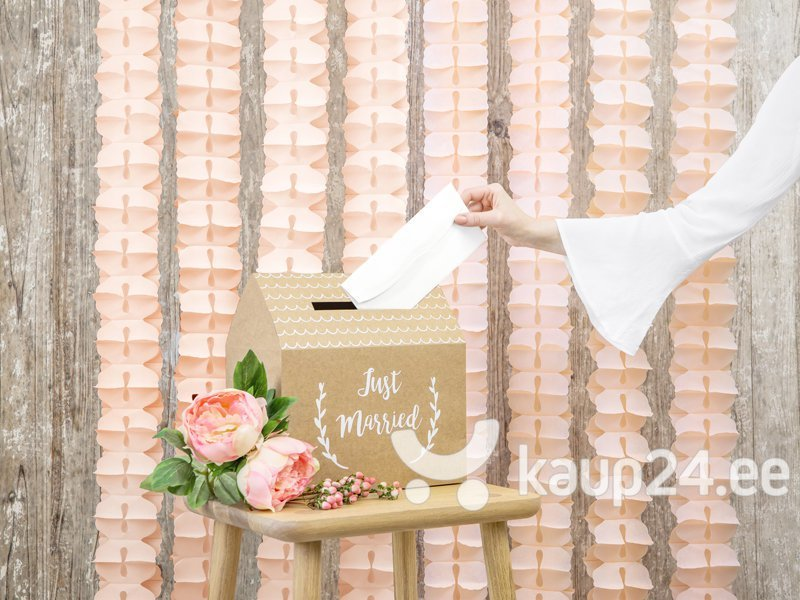 Гирлянда Tissue Light Peach 3 м