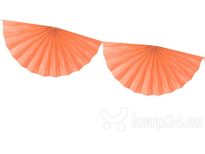Гирлянда Rosettes Peach 40 см х 3 м (1 кор / 50 шт)
