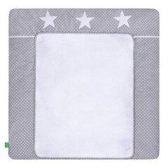 Mähkimismatt LULANDO, White Dots / Grey Stars, 75x80 cm
