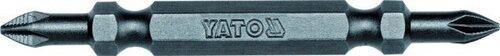 Kahepoolne kruvikeeraja ots Yato Ph1-Ph1 1/4x65mm YT-7880, 50 tk