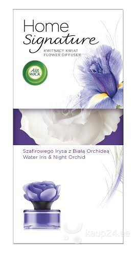 Lill-aroomihajuti AirWick Home Signature Iris & Night Orchid, 90 ml цена и информация | Õhuvärskendajad | kaup24.ee