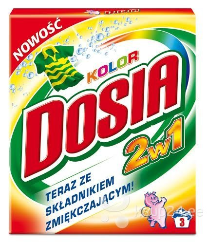 Pesupulber Dosia COLOR 2 in 1 0,3 kg