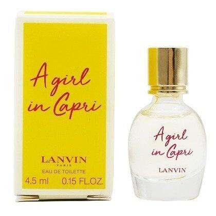 Tualettvesi Lanvin A Girl In Capri EDT naistele 4,5 ml
