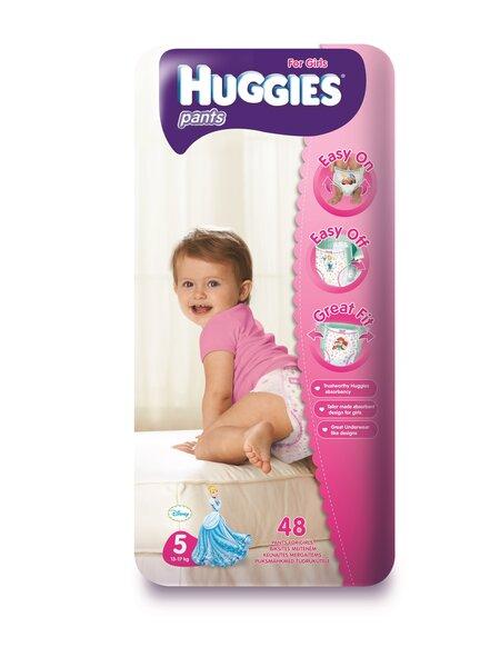 Подгузники для девочек HUGGIES Pants Girls, 5 размер, 48 шт. цена и информация | Mähkmed ja mähkimislinad | kaup24.ee