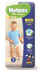 Mähkmed HUGGIES Ultra Comfort Boys, 5 suurus, 56tk