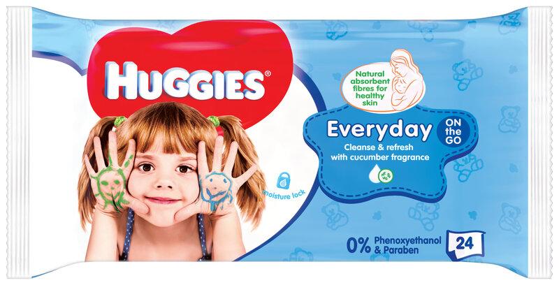 Влажные салфетки HUGGIES EveryDay, 24 шт.