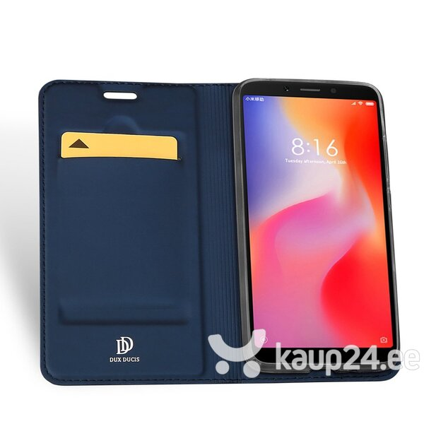DUX DUCIS Skin Pro Bookcase type case for Xiaomi Redmi 6 blue